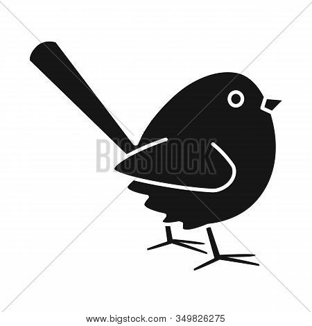 Isolated Object Of Bird And Sparrow Logo. Set Of Bird And Brown Stock Vector Illustration.