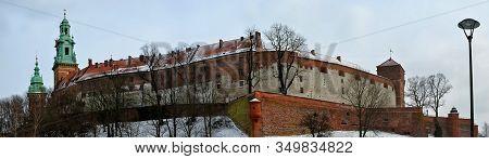 King Castle At Wowel In Krakow Poland