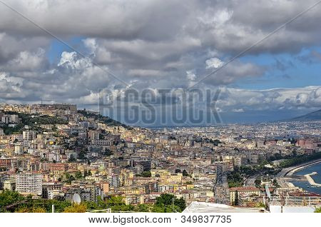 Naples City Buildings In Summer Landscape Photography