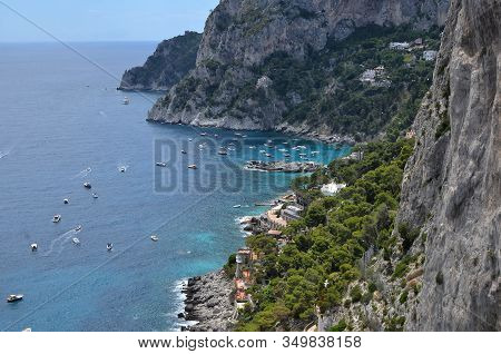 Capri Island Bay And Nature In Italy Photography