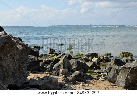 Rocks Coast And Sea Water Nature Landscape Bulgaria