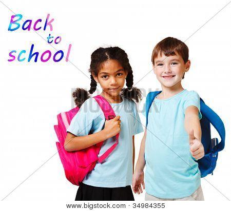 Bad child in school
