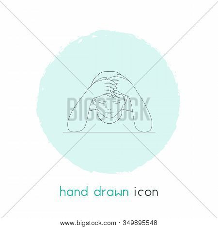 Decline Icon Line Element. Vector Illustration Of Decline Icon Line Isolated On Clean Background For
