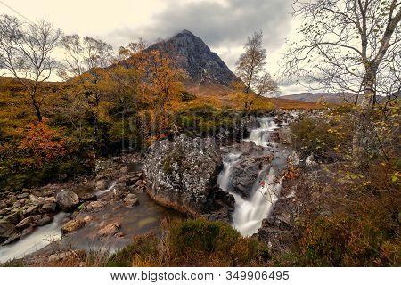 Buachaille Etive Mòr, Glen Etive In The Autumn