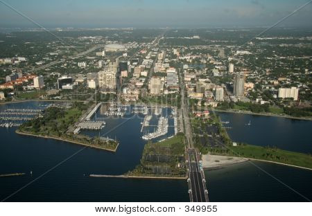 Downtown Of St. Petersburg