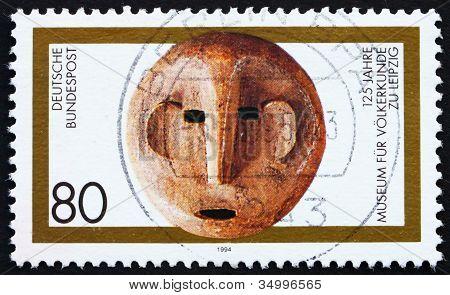 Postage stamp Germany 1994 Ethnological Museum, Leipzig