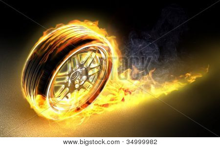 Racing hot wheels