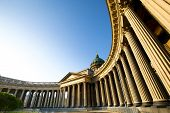 Kazan Cathedral in St.Petersburg, Russia poster