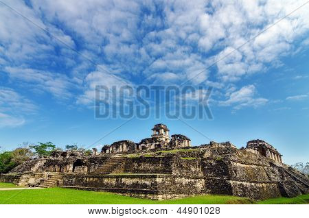 Palenque Palace View