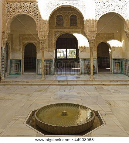 Courtyard Of Arrayanes.