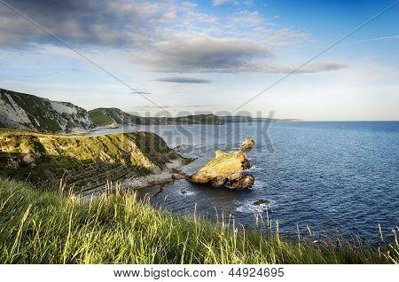 The Jurassic Coast In Dorset
