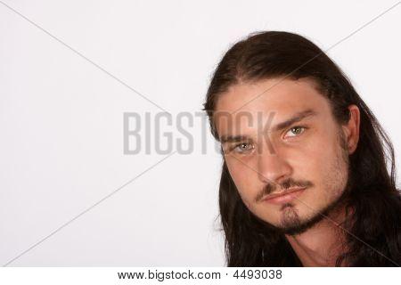 Porfile Of Long Hair