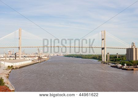 Talmadge Memorial Bridge Savannah Georgia