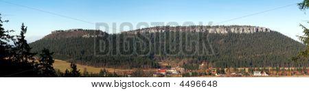 Panoramic View Of Szczeliniec