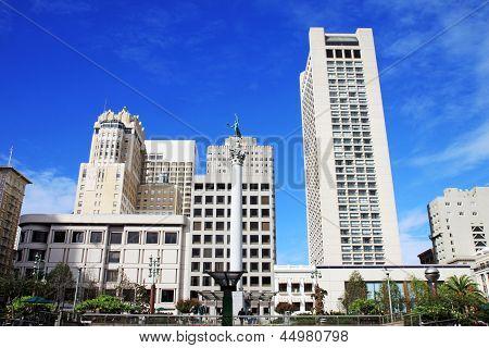 Union Square In San Francisco, California, Usa.union Square In San Francisco, California, Usa.union
