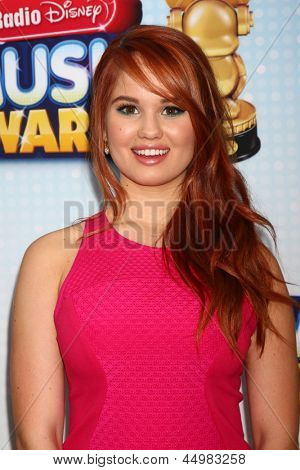 LOS ANGELES - APR 27:  Debby Ryan arrives at the Radio Disney Music Awards 2013 at the Nokia Theater on April 27, 2013 in Los Angeles, CA