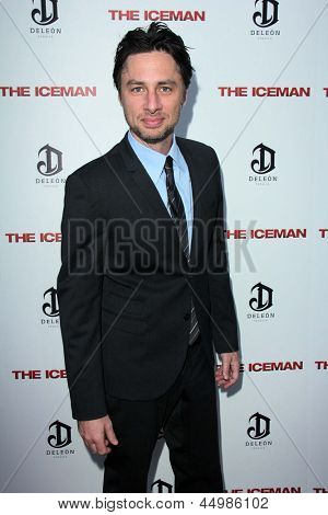 LOS ANGELES - APR 22:  Zach Braff arrives at