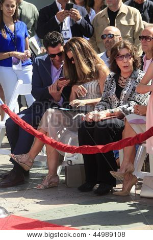 LOS ANGELES - APR 27:  Troy Garity, Maria Shriver and Lily Tomlin at the Jane Fonda Hand and FootPrint Ceremony at the Chinese Theater on April 27, 2013 in Los Angeles, CA