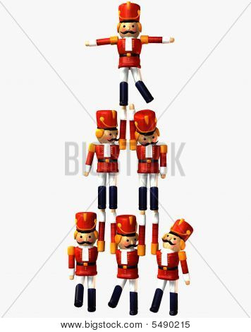 Nutcracker Toy Soldiers
