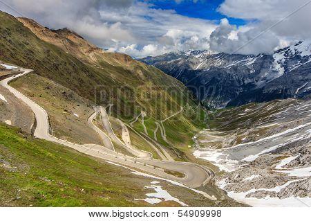 A View Of Stelvio Pass