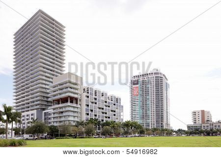 Modern Midtown Miami architecture