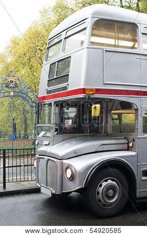 Vintage Bus In London.