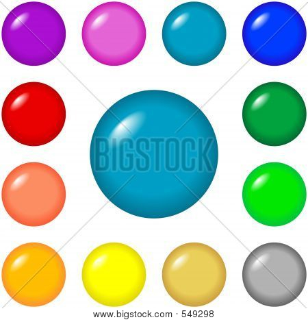 Buttons - Round