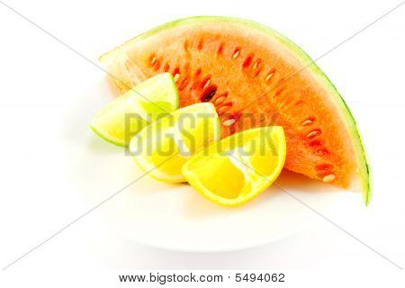 Citrus Fruit And Watermelon