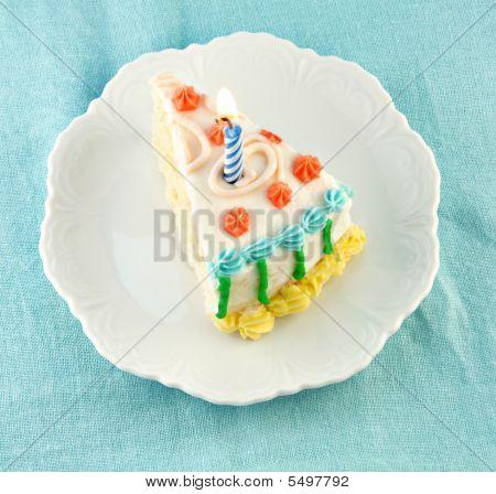 Slice Of Birthday Cake