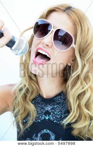 Rock And Roll Female Singer, Female Rock Star