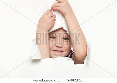 Curiosity Of A Little Boy