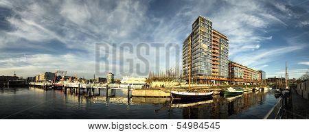 The Ernst Busch Platz Kiel Harbour, Germany