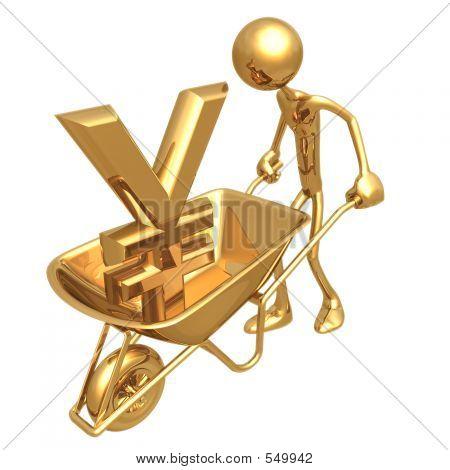 Wheelbarrow Yen