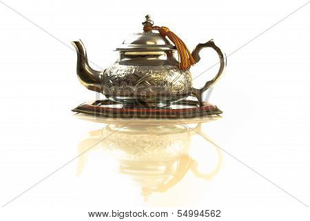 Moroccan traditional teapot