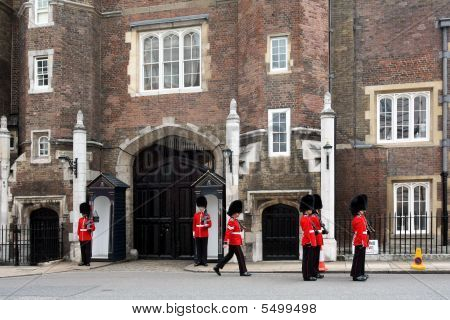 Changing Of The Guard, St. James Palace