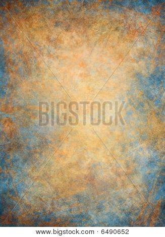 Golden Blue Background