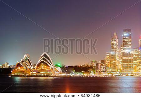 Sydney Harbour Bridge, Opera House