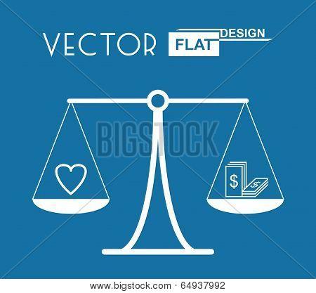 Flat Balance Symbol