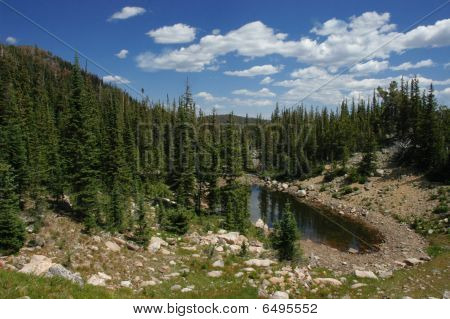 Pond in Mountains