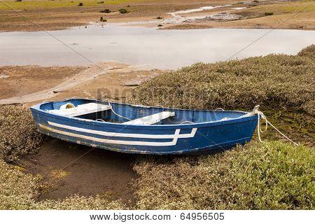 Aground Boat.