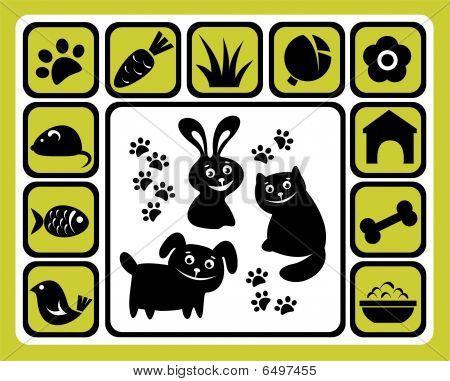 Pet Icons Set