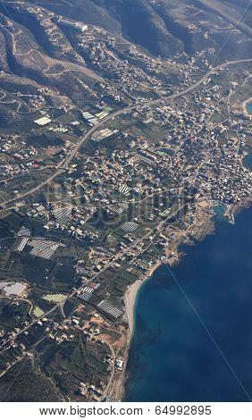 Lebanon Aerial View