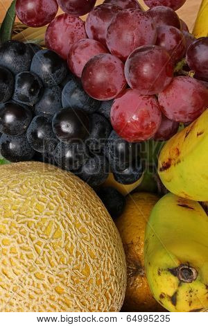 Grapes Melons and Bananas