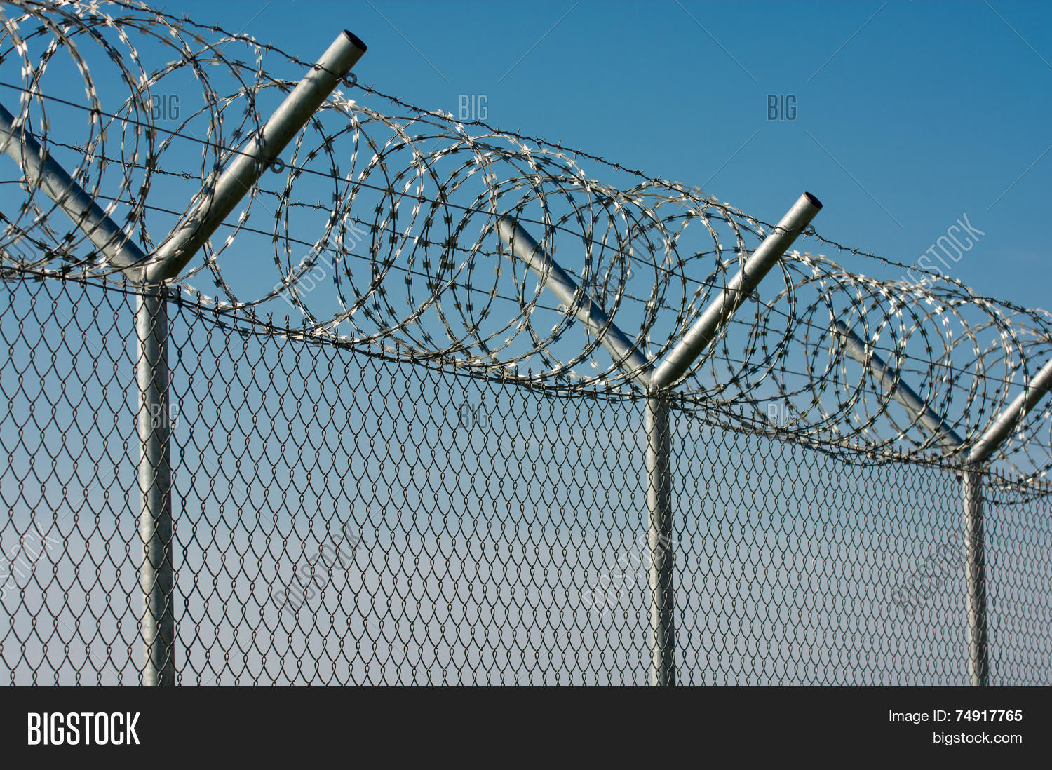 Barbed Wire Fence Image & Photo (Free Trial) | Bigstock