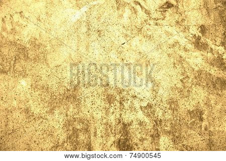 gold wall