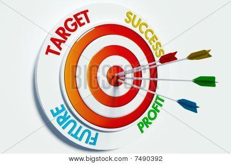 Target, Success, Profit, Future