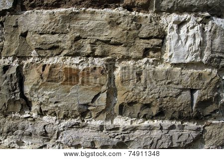 Ancient Walls Of Hewn Stone