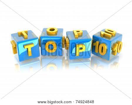 3D Text Top10