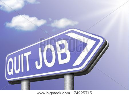 quit job change career resigning from work and getting unemployed