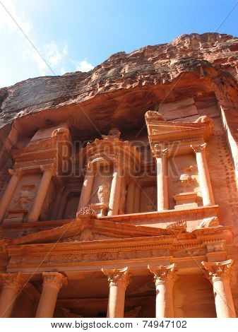 Treasury In Petra